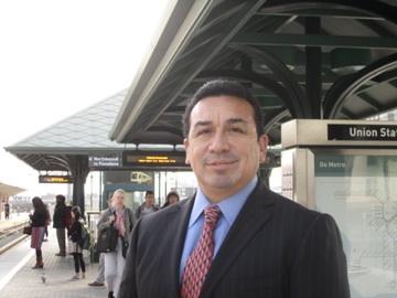 Héctor Rodríguez dijo estar muy agradecido por la oportunidad de haber sido administrador de Cudahy. Foto: María Luisa Arredondo.