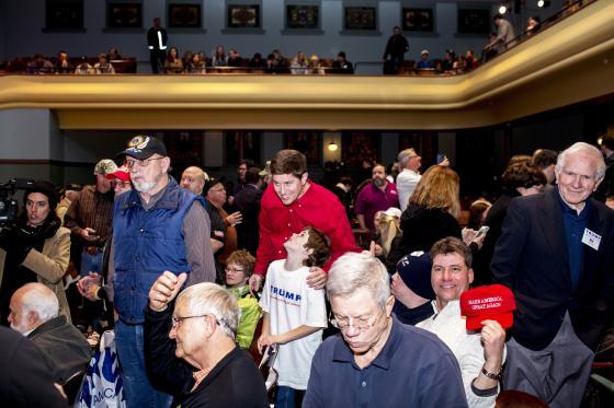 Las asambleas electorales en Iowa