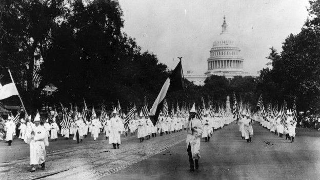 Con el nuevo gobierno estadounidense, muchos se preguntan si resurgirán grupos supremacistas blancos como el Ku Klux Klan. Foto: Tomada de internet.
