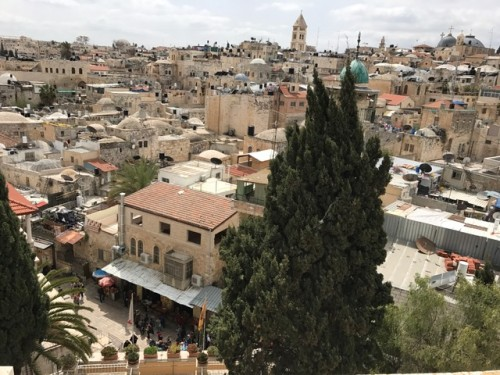Vista de Jerusalén. Foto: María Luisa Arredondo/Latinocalifornia.com