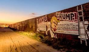 El rechazo a la construcción del muro en la frontera con México ha sido abrumador desde el principio. Foto: Tomada de internet.