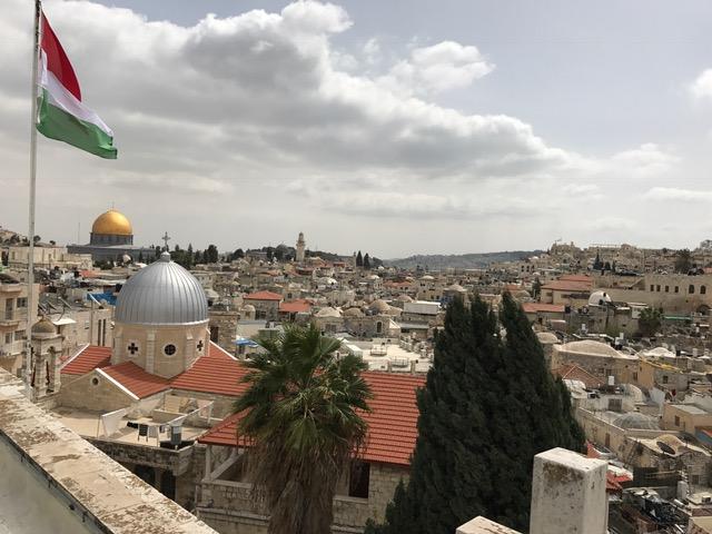 Vista panorámica de Jerusalén.