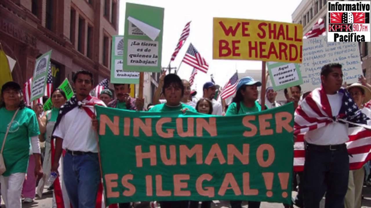El 1o. de Mayo de 2006 la voz de los inmigrantes se escuchó en todo Estados Unidos, especialmente en Los Angeles, donde se llevó a cabo la manifestación más multitudinaria y diversa del país. Foto: Tomada de internet.
