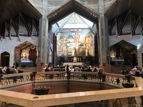 Basílica de la Anunciación en Nazareth. Foto: María Luisa Arredondo/Latinocalfironia.com
