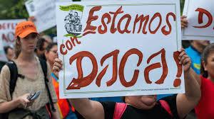 La decisión de eliminar DACA no ha hecho sino reactivar la lucha en defensa de los Dreamers en todo el país. Foto: Tomada de internet.