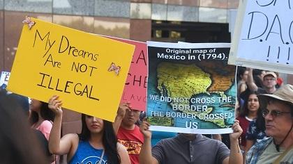 La lucha por DACA aún no termina. Foto: Tomada de internet.