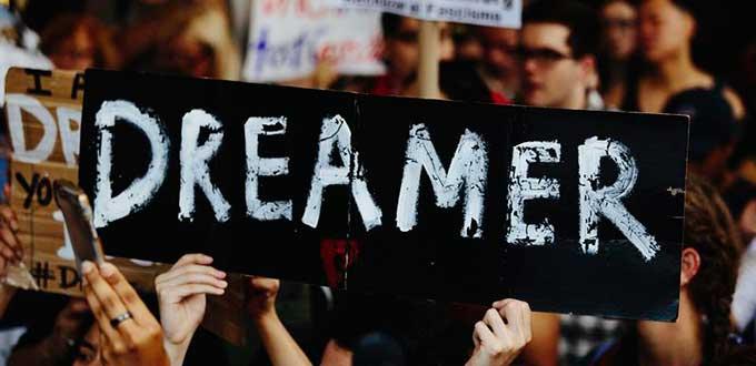 La defensa de los Dreamers no cesa, ni en el ámbito político ni en las calles. Foto: Tomada de internet.