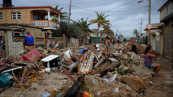 La devastación causada por Irma es inmensa.