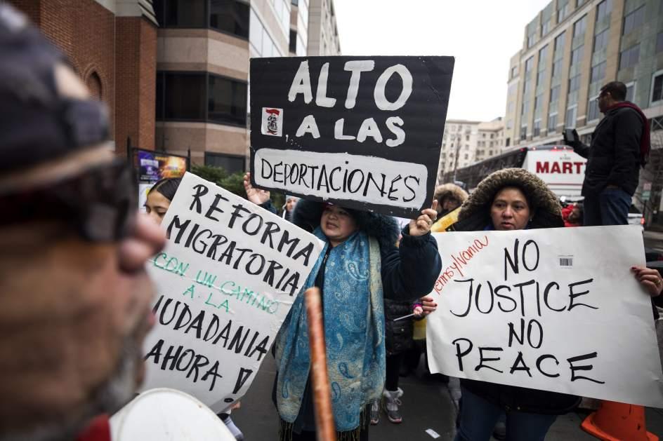 La defensa de los inmigrantes se ha convertido en un movimiento nacional contra las políticas del gobierno de Donald Trump. Foto: Tomada de internet.