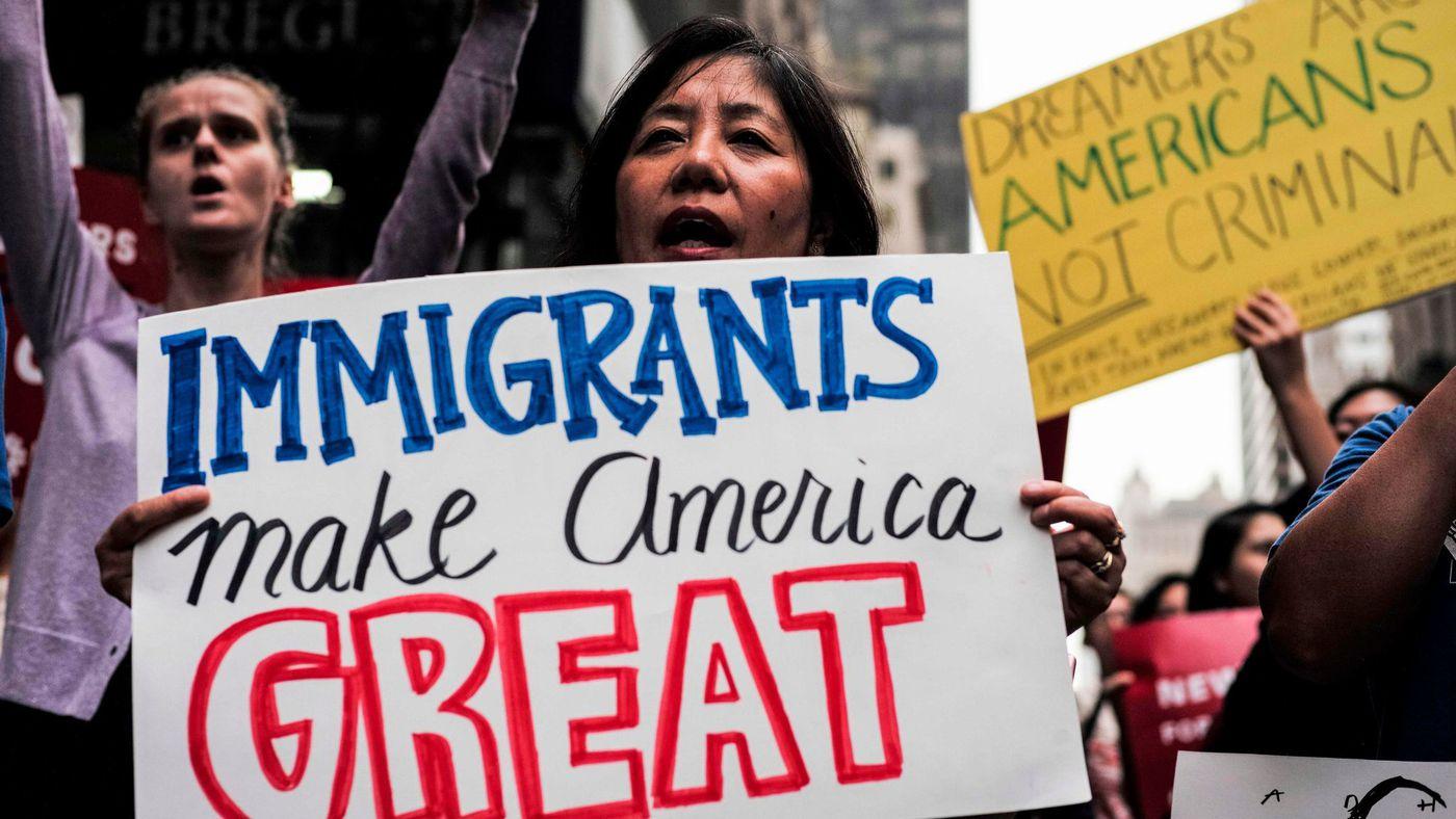 Tras ser excluidos nuevamente del acuerdo para no cerrar el gobierno, Dreamers siguen en el limbo migratorio en este país. Foto: Tomada de internet.