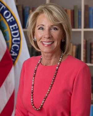 DeVos. Foto: Departamento de Educación.