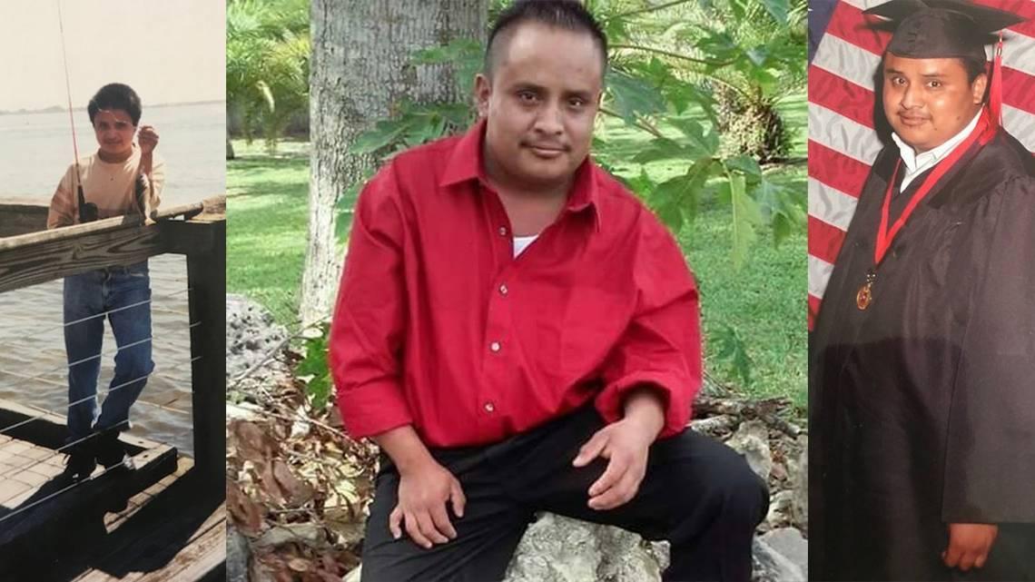 El joven Juan Gaspar García fue arrestado durante una redada de ICE en Fort Pierce, Florida. Sus familiares exigen su liberación, pues padece diabetes y Síndrome de Down. Foto: Tomada de internet.