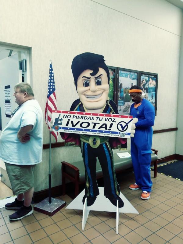 El llamado al voto latino se intensifica en Nevada, al igual que en todo el país. Foto: David Torres/America's Voice