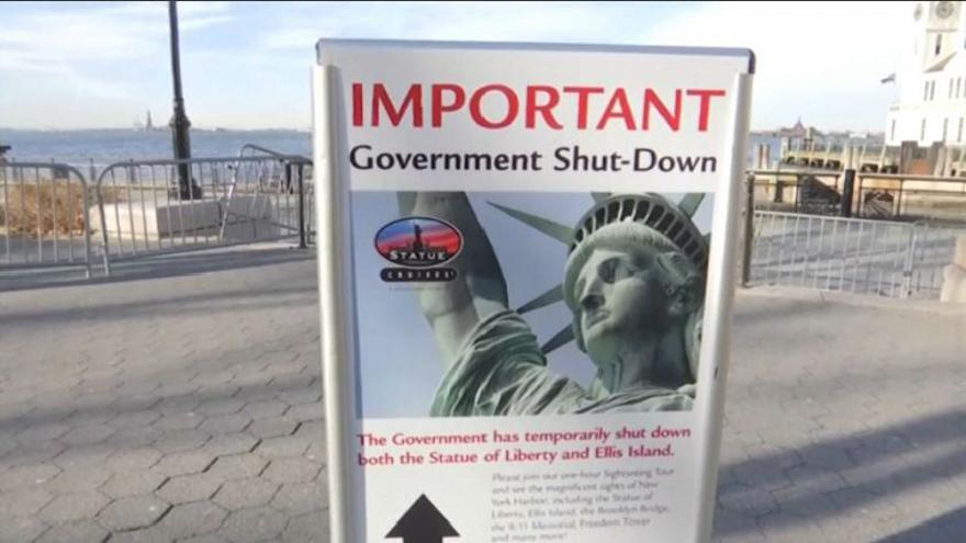 El cierre de gobierno de Estados Unidos sigue afectando diversas actividades oficiales. Foto: Tomada de internet.