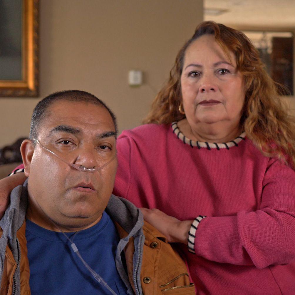 José Herrera y su esposa. Foto: suministrada.