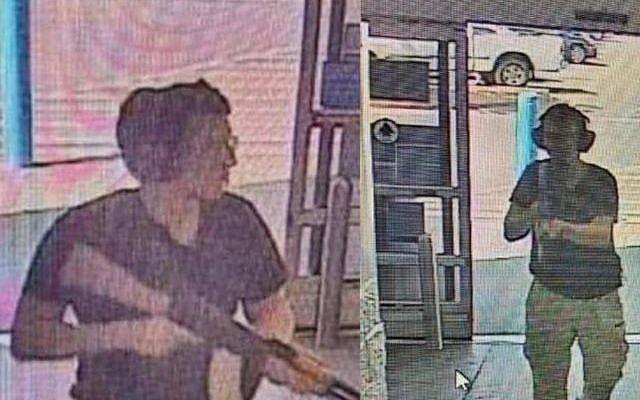 El sospechoso Patrick Crusius captado en una imagen durante el tiroteo en una tienda Walmart, en el Paso Texas, donde mató a 20 personas e hirió a otras 26. Foto: Tomada de internet.