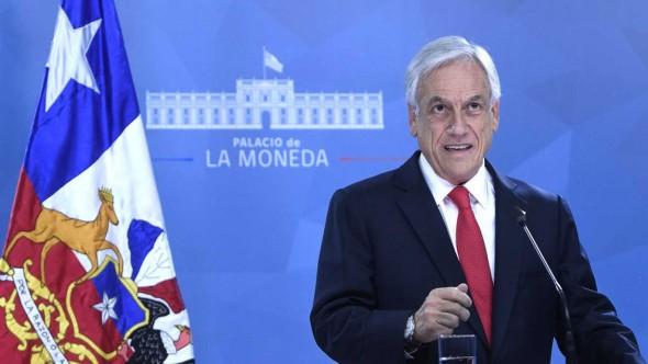 El presidente chileno Sebastián