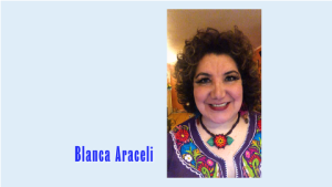 Blanca Araceli.